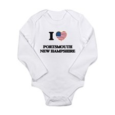 I love Portsmouth New Hampshire Body Suit
