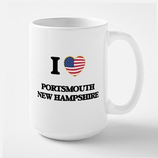 I love Portsmouth New Hampshire Mugs