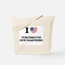I love Portsmouth New Hampshire Tote Bag