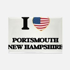 I love Portsmouth New Hampshire Magnets