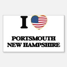 I love Portsmouth New Hampshire Decal