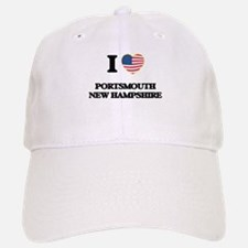 I love Portsmouth New Hampshire Baseball Baseball Cap