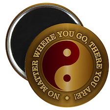 Yin Yang (Gold-Maroon) Magnets
