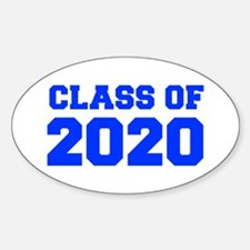 CLASS OF 2020-Fre blue 300 Decal