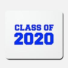 CLASS OF 2020-Fre blue 300 Mousepad