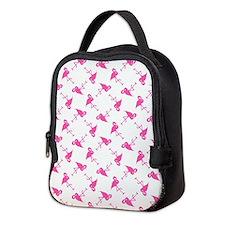 PINK FLAMINGO Neoprene Lunch Bag