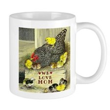 We Love Mom! Small Mug