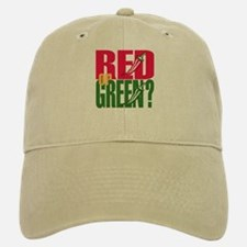 Red or Green? Baseball Baseball Cap
