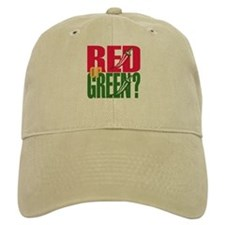 Red or Green? Baseball Cap