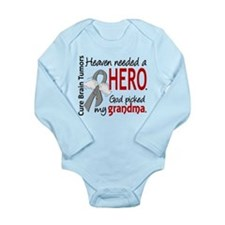 Brain Tumor HeavenNeed Long Sleeve Infant Bodysuit