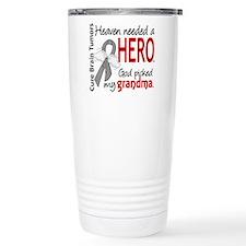 Brain Tumor HeavenNeede Travel Mug