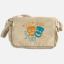 Crazy DRAMA Lady Messenger Bag