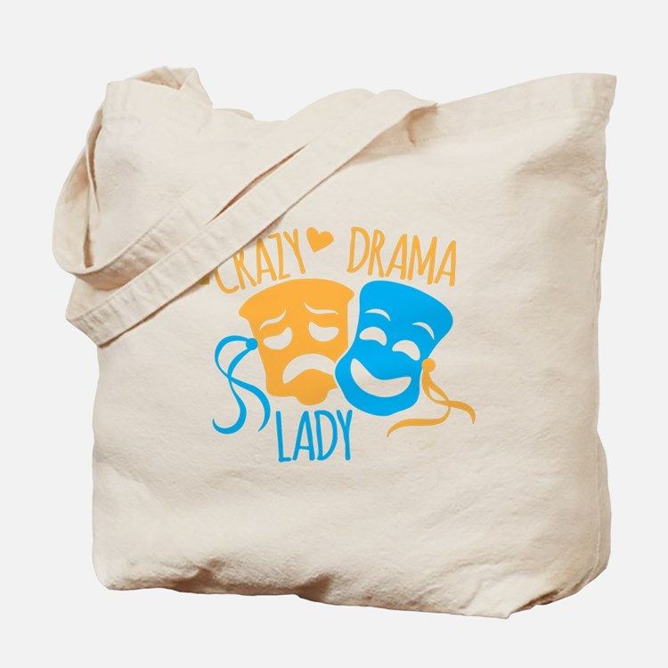 Crazy DRAMA Lady Tote Bag