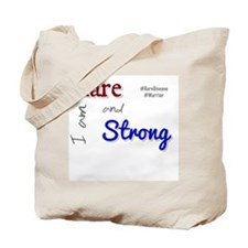I am Rare and Strong Tote Bag