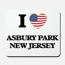I love Asbury Park New Jersey Mousepad
