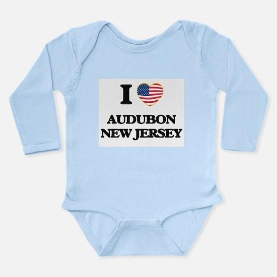 I love Audubon New Jersey Body Suit
