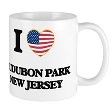 I love Audubon Park New Jersey Mug