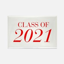 CLASS OF 2021-Bau red 501 Magnets