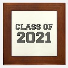 CLASS OF 2021-Fre gray 300 Framed Tile