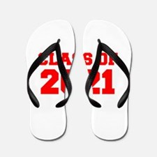 CLASS OF 2021-Fre red 300 Flip Flops