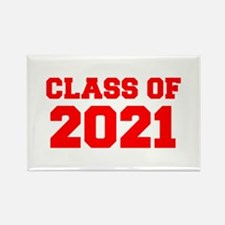 CLASS OF 2021-Fre red 300 Magnets