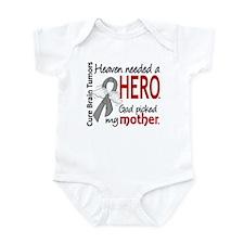 Brain Tumor HeavenNeededHero1 Infant Bodysuit