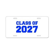 CLASS OF 2027-Fre blue 300 Aluminum License Plate