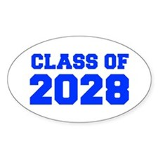 CLASS OF 2028-Fre blue 300 Bumper Stickers