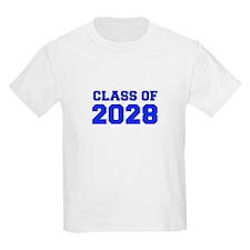 CLASS OF 2028-Fre blue 300 T-Shirt