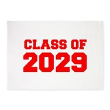 CLASS OF 2029-Fre red 300 5'x7'Area Rug
