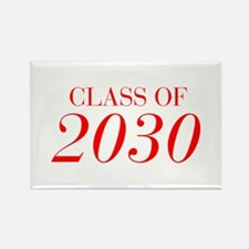 CLASS OF 2030-Bau red 501 Magnets