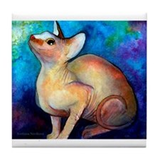 SPHYNX CAT 5 Tile Coaster 4.25""