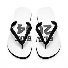 CLASS OF 2034-Fre gray 300 Flip Flops