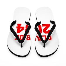 CLASS OF 2034-Fre red 300 Flip Flops