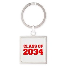 CLASS OF 2034-Fre red 300 Keychains