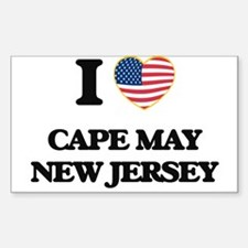 I love Cape May New Jersey Decal