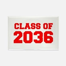 CLASS OF 2036-Fre red 300 Magnets