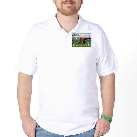 Shore & Dachshund Pair Golf Shirt