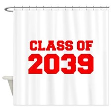 CLASS OF 2039-Fre red 300 Shower Curtain