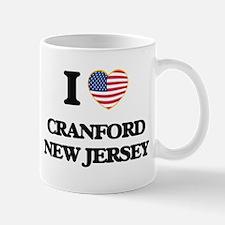 I love Cranford New Jersey Mugs