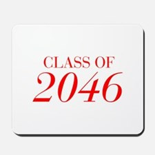 CLASS OF 2046-Bau red 501 Mousepad