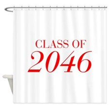 CLASS OF 2046-Bau red 501 Shower Curtain