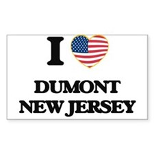 I love Dumont New Jersey Decal