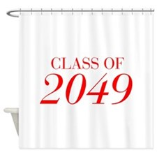 CLASS OF 2049-Bau red 501 Shower Curtain