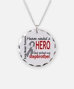 Brain Tumor HeavenNeededHero Necklace