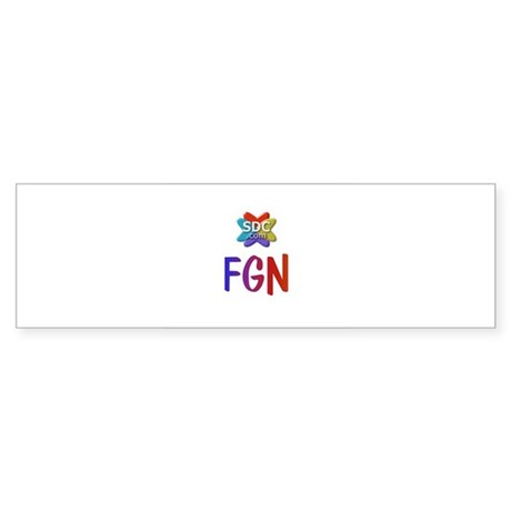 FGN Products Bumper Sticker
