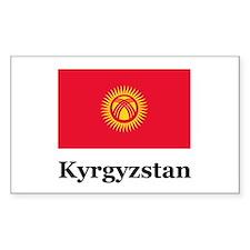 Kyrgyzstan Rectangle Decal