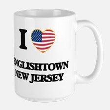 I love Englishtown New Jersey Mugs