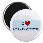 I LOVE HILLARY CLINTON Magnet
