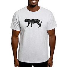 Distressed Puma Silhouette T-Shirt